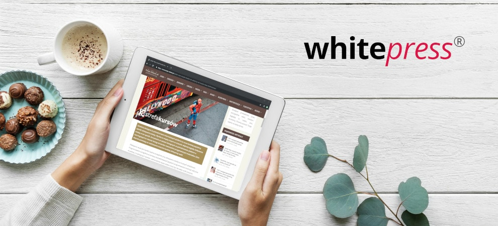 Promocja marki poprzez artykuły sponsorowane na WhitePress